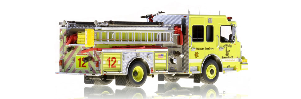 Production of O'Hare Engine 12 is limited to 125 units