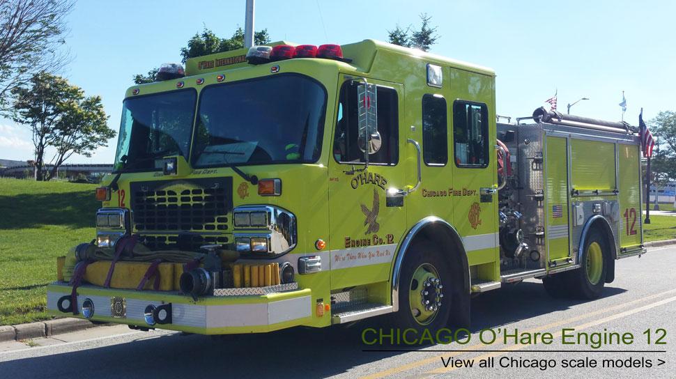 Shop Chicago Fire Department Scale Models