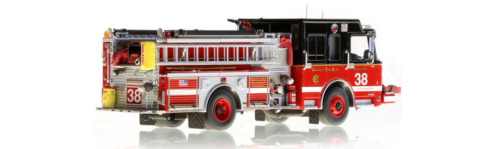 CFD Engine 38 is hand-crafted from over 445 parts