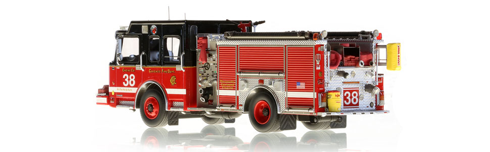 Only 100 of Chicago Engine 38 have been produced.
