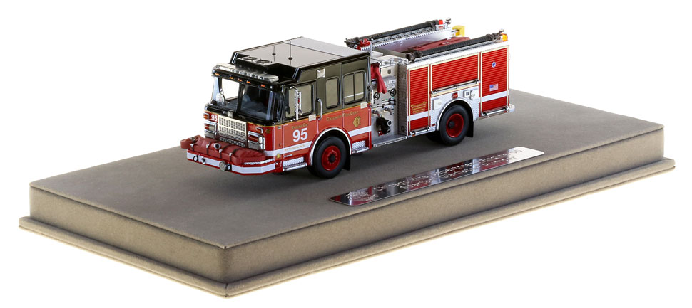 Chicago Engine 95 includes a display-ready case.