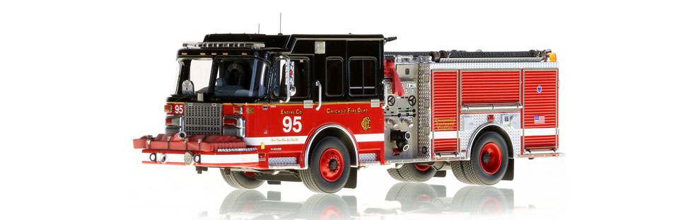 Chicago Engine 95 features museum grade detail