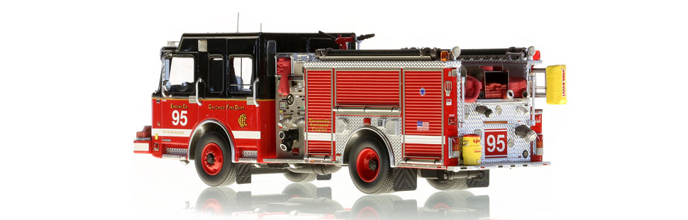 CFD Engine 95 is hand-crafted with over 445 parts.