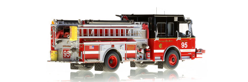 Only 100 of Chicago Engine 95 have been produced.