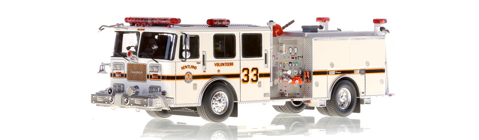 Kentland Engine 331 scale model is museum grade