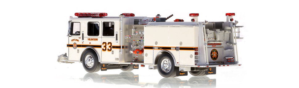 Kentland Engine 331 is hand-crafted from over 500 parts