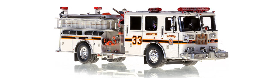 Kentland Engine 331 is authentic to the smallest of details.