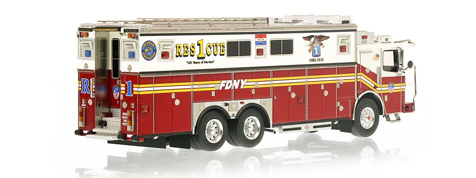 Authentic to FDNY Rescue 1 Ferrara Heavy Rescue