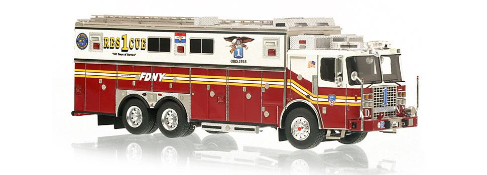 FDNY Rescue 1 features razor sharp accuracy