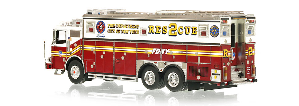 FDNY Rescue 2 is limited to 200 units.