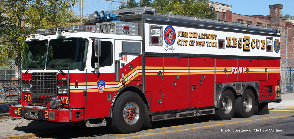Fire Department City of New York Rescue 2