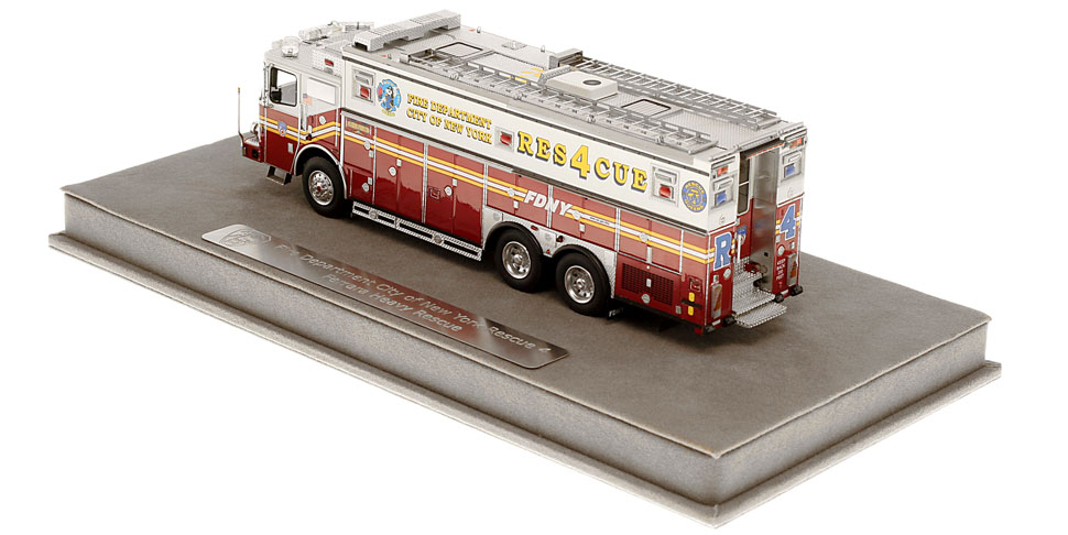 Order your FDNY Rescue 4 today!