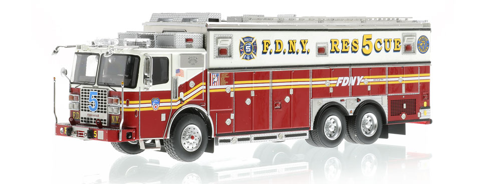 Rescue 5 is hand-crafted using over 600 individual parts.