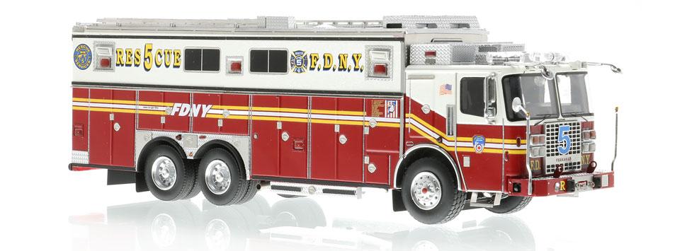 FDNY Rescue 5 features razor sharp accuracy