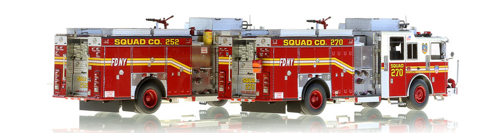 Order your FDNY Squads 252 and 270 today!