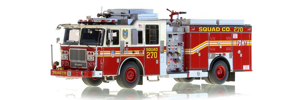 Authentic details to FDNY Squad 270
