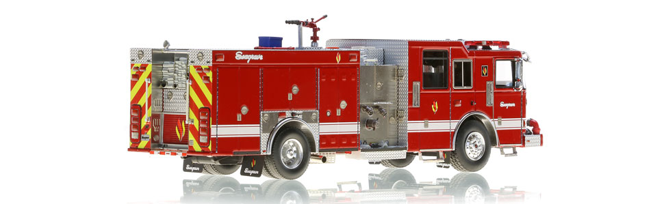 Only 100 Limited Edition Seagrave Rescue Pumpers produced.