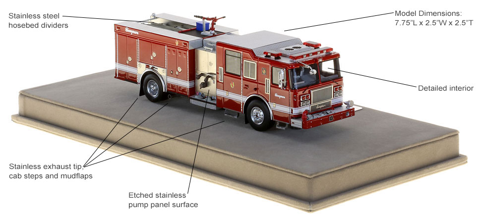 Order your 2018 Limited Edition Seagrave today!