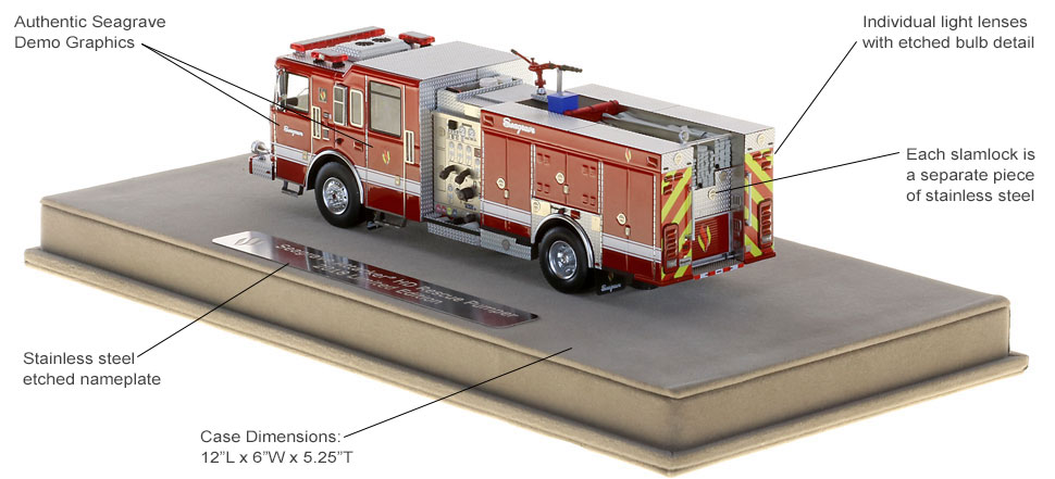 Seagrave demo rescue pumper authenticity