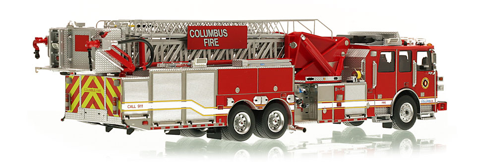 Production of this Columbus Tower scale model is limited to 250 units.