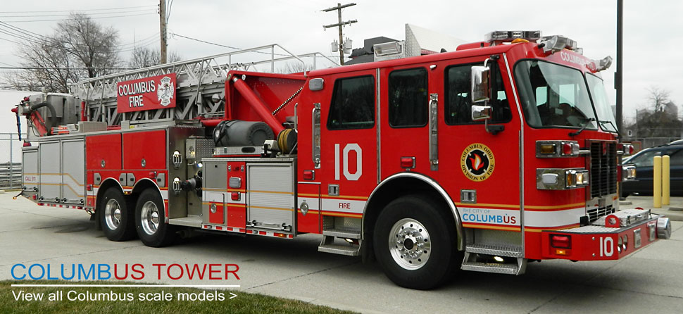 View all Columbus scale model fire trucks