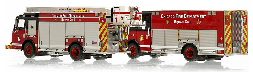 Each CFD Squad 1 is hand-crafted using over 400 parts