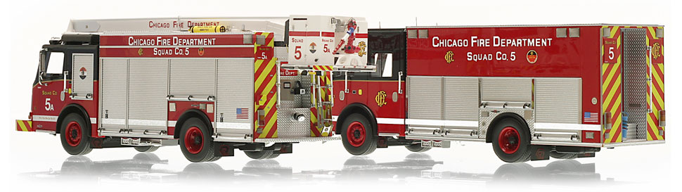 Each CFD Squad 5 is hand-crafted using over 400 parts