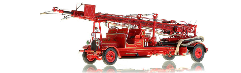 Chicago Fire Department 1923 Seagrave Water Tower 3