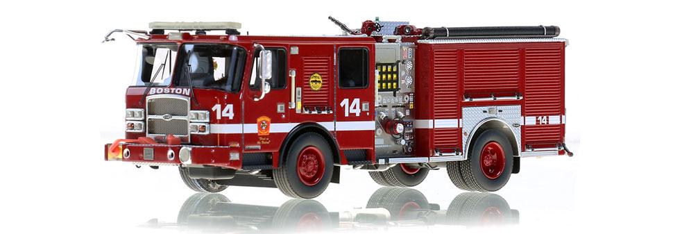 First museum grade Boston Engine replica.