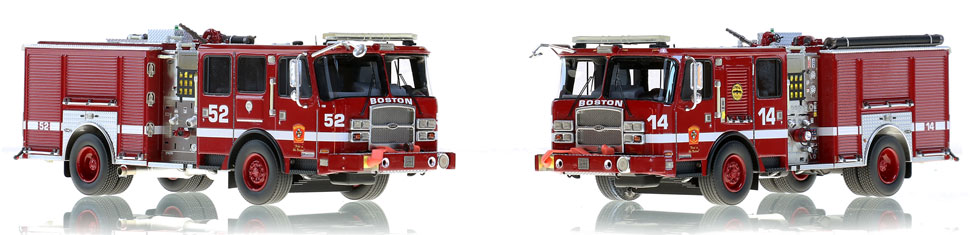 Boston Engines 14 and 52...for the elite collector