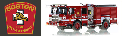 Shop Boston Fire Department Scale Models