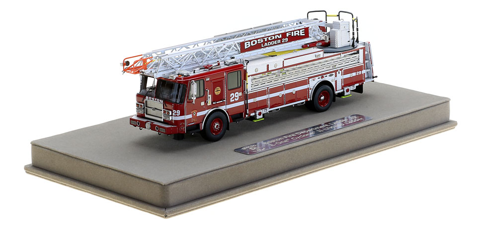 Ladder 29 includes a fully custom display case