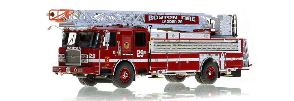 Boston's Ladder 29 features authentic details