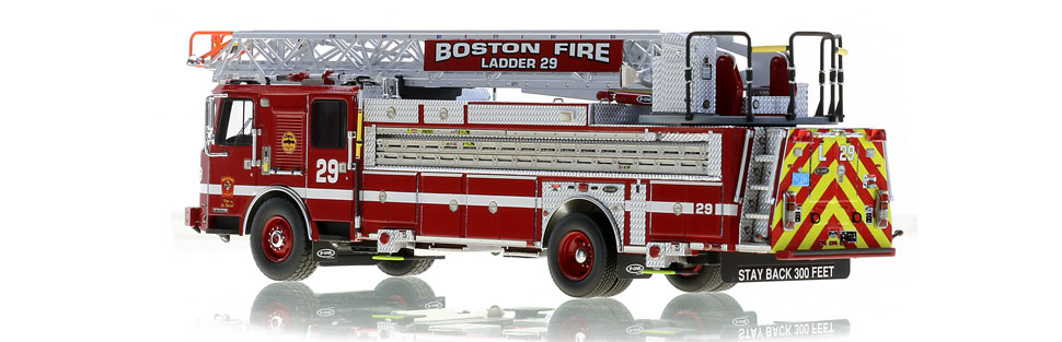 Boston Ladder 29 is museum grade