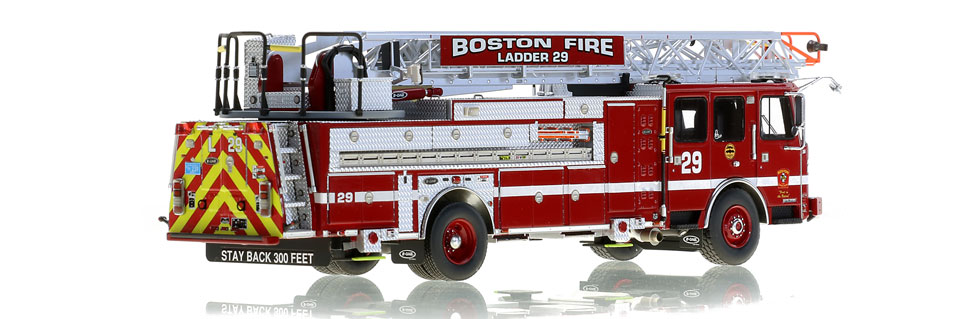 Only 125 units of Boston Ladder 29 produced.