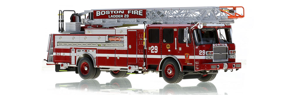 Boston Ladder 29 is hand-crafted from over 615 parts