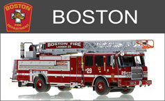 Shop Boston Fire Department 1:50 scale models