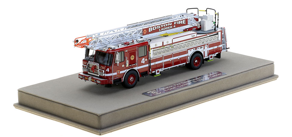 Ladder 4 includes a fully custom display case.