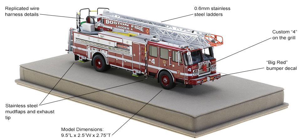 Order your Boston Ladder 4 today!