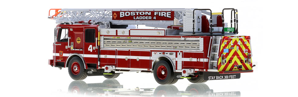 Only 125 units of Boston Ladder 4 produced.