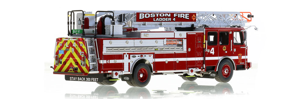 Fort Dudley in Roxbury is home to Ladder 4
