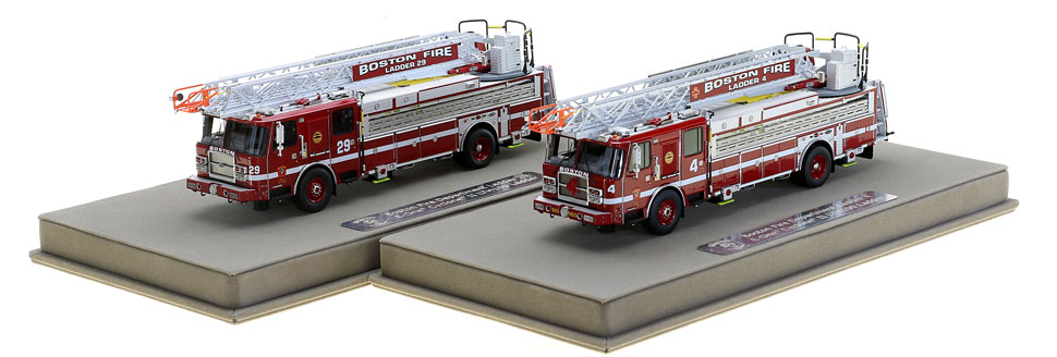 Boston's Ladder 4 and 29 include a display case.