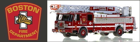 Boston Fire Department 1:50 scale models