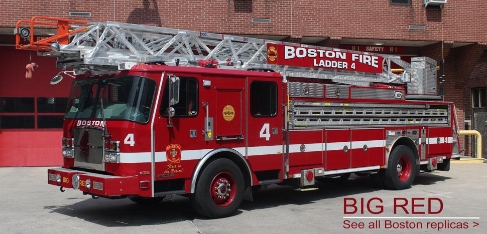 View all Boston scale model fire trucks