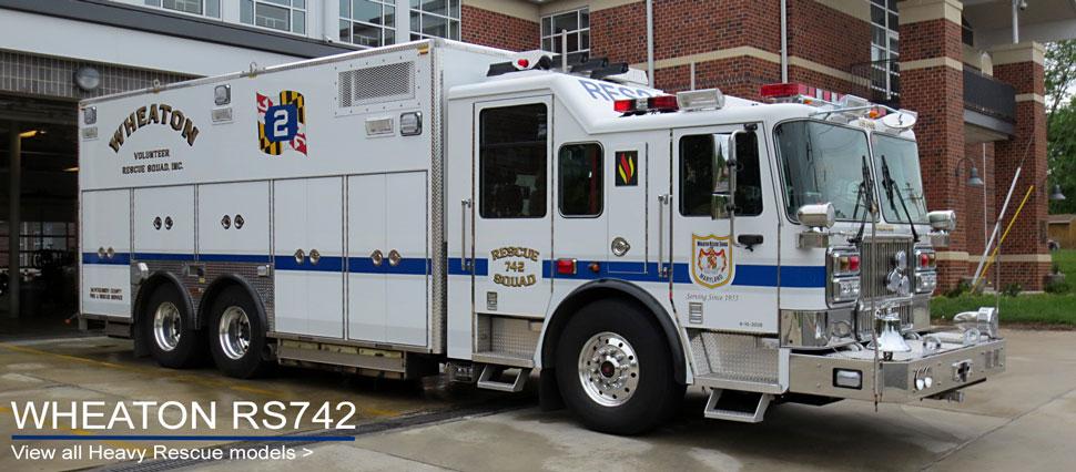 Shop Heavy Rescue scale model fire trucks