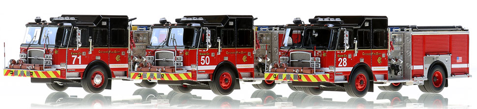 Complete your Chicago Fire Department collection today!