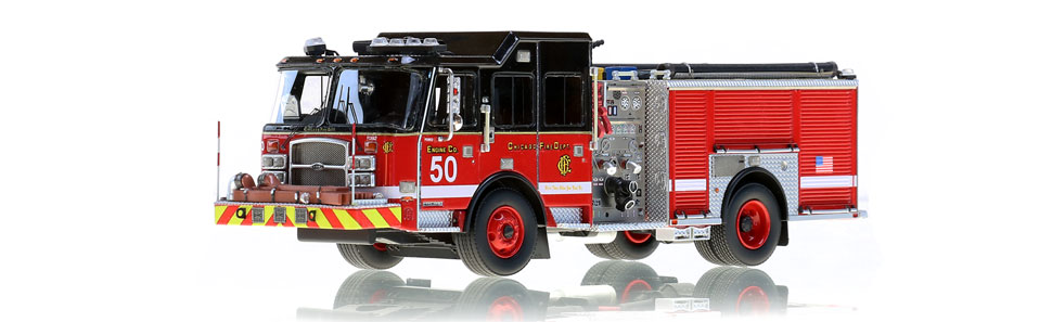 CFD Engine 50 is a hand-crafted scale model