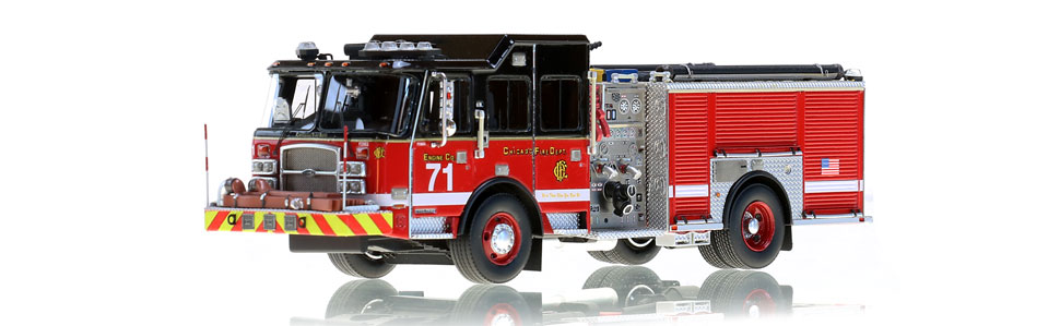 Chicago Engine 71 features museum grade accuracy.