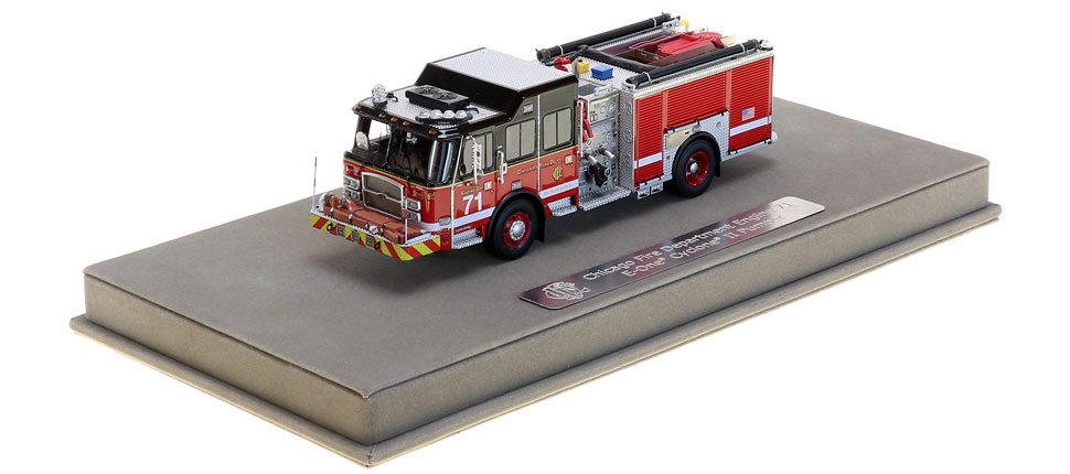 Engine 71 includes a fully custom display case.