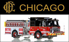 Shop Chicago scale models including E-One Engine 71